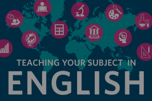 Teaching your subject in English
