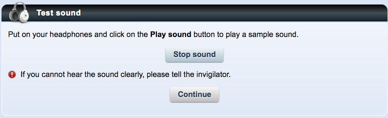 prueba de sonido
